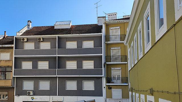 Photo of the No.37 facade, Lisbon, Portugal