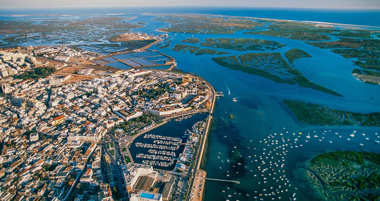 Faro, Aerial view