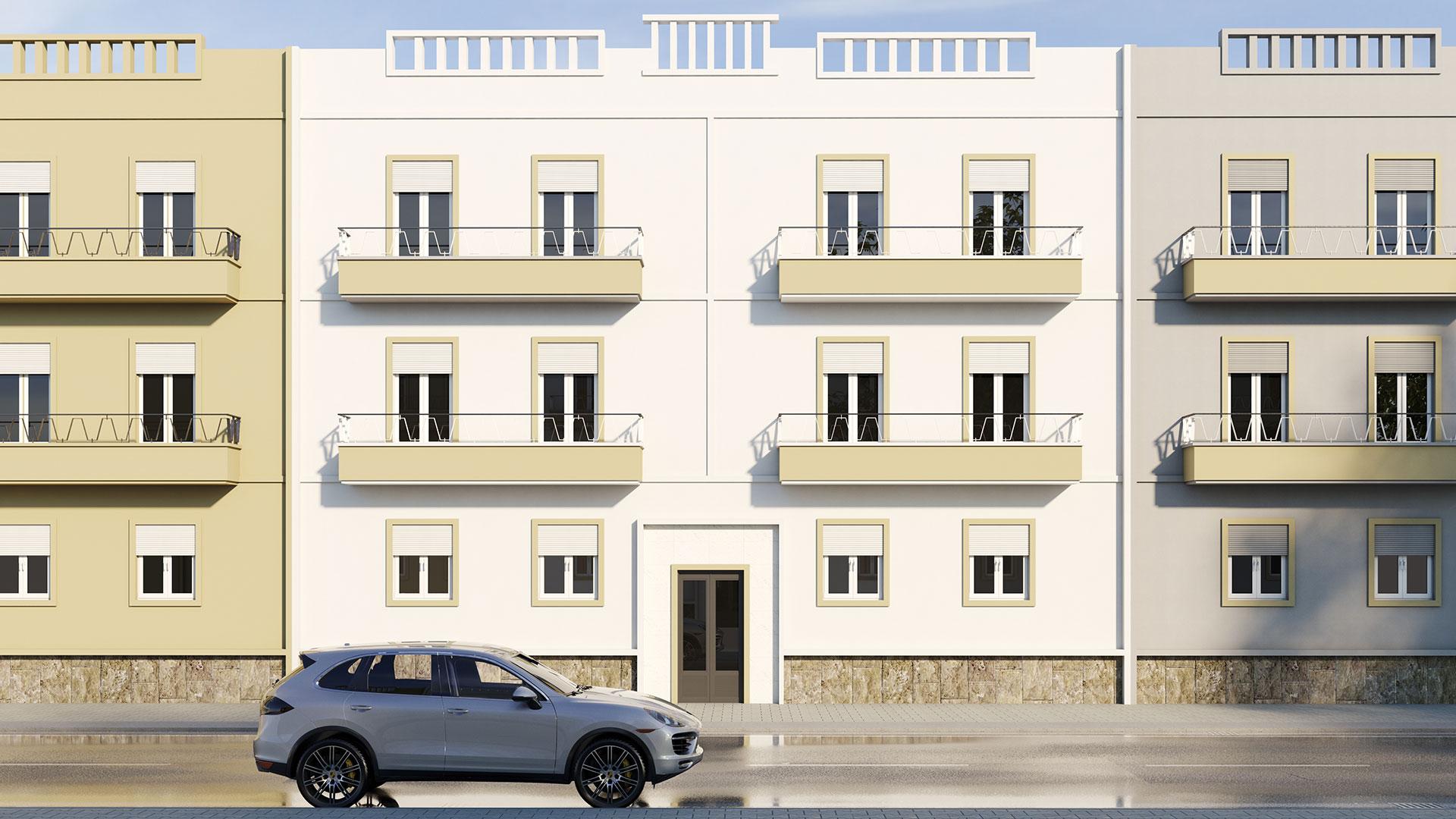 3D image of No.9, Faro, Portugal